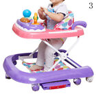 Adjustable Baby Walker Activity First Steps Bouncer Toy Push Along Safe Seat Car