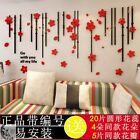 1PC 3D Acrylic  Wall Sticker Art Mural Decal Removable DIY Home Decor