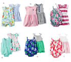 Carter's Baby Girl 3pc Dress Set Clothes Floral Butterfly 3 6 9 12 18 24 Month