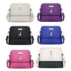 Women PU Leather Vintage Messenger Bag Shoulder Crossbody Deer Shell Bag Fashion