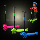 3 Wheels Kick Kids Child Toddlers Scooter Adjustable Height For Boy and Girls