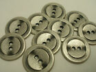 New Lots of 15 Antique Silver Metal Buttons, 7/8  #S4