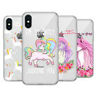 HEAD CASE DESIGNS SASSY UNICORNS SOFT GEL CASE FOR APPLE iPHONE PHONES