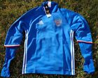 RUSSLAND RUSSIA Herren Men Trainings Top Sweater Trikot Blau ADIDAS Fussball RFU