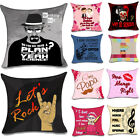 Soft Popular Sofa Linen Cotton 3D Print Cushions Decorative Pillow Covers