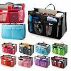 Lady Insert Handbag Organiser Purse Large liner Organizer Bag Tidy Travel TIXS