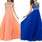 Women Long Prom Dress Gown Party Evening Party Bridesmaid Cocktail Maxi Dress