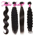 8A Indian Virgin Hair Bundle 100%Unprocessed Human Remy Hair Extensions US Stock