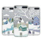 HEAD CASE DESIGNS WINTER COTTAGES SOFT GEL CASE FOR APPLE iPOD TOUCH MP3