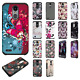For LG Aristo 2 HARD Astronoot Hybrid Rubber Silicone Case Cover +Screen Guard