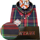 Warrior UK England Button Down Shirt PISTOLS Hemd Slim-Fit Skinhead Mod