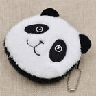 Womens Creative Animal Design Plush Coin Purse Pouch Wallet Lovely Gift Round