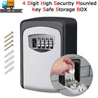 outdoor megastore discount code - 4-Digit Outdoor Key Storage Box Wall Mounted High Security Safe Code Secure Lock