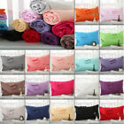 100% Cotton Pillow Cases 1PC/2Pcs Covers Pillowcases Standard All Size Hot * image