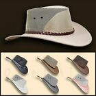 ●oZtrALa● Jacaru HAT P-Leather BREEZER Mens Women Cowboy Golf Australian OUTBACK
