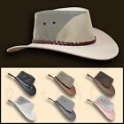 ~oZtrALa~ Jacaru HAT P-Leather BREEZER Mens Women Cowboy Golf Australian OUTBACK