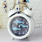 Tabletop Desktop Bedside Metal Mute Twin Bell Alarm Clock w/ Night Light 18 Type