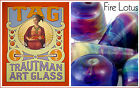 "-Neu- TRAUTMAN ART GLASS ""Fire Lotus"" (First Quality Rods) - von 4 bis 6 mm!"