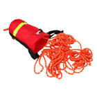 52ft /69ft Buoyant Throw Rope Bag Safety Reflective Strap for Climbing Kayak