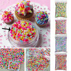 100g DIY Polymer Clay Colorful Fake Candy Sweet Sugar Sprinkles All Beauty Decor image
