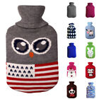 Water Relaxing Knitted Bag Sleeve Hot Warm 2000ml Heat Cover Bottle Winter Anti