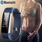 US Waterproof Bluetooth Smart Watch Heart Rate Monitor Fitness Tracker Bracelet