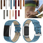 Genuine Leder Charge Strap Leather Band Replacement For Fitbit Wrist 2 Bracelet