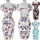 New Hole Dress Wiggle Size Pinup Cocktail Pencil Retro Vintage Womens Party 50s