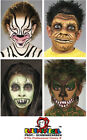Face and Body Paint 3.5ml Pots Eulenspeigel Whites Greys and Blacks Variation