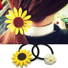 Cute Accessories Sun Flower Womens Office Elastic Party Ponytail Holder