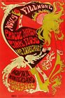 Vintage CONCERT 60s 70s A3 A4 POSTERS Psychedelic ROCK N ROLL BUY 1 GET 2 FREE