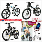 26Inch Electric Mountain Bike Fat Tire E Bike With 300W Brushless Motor 6-Speed
