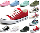 Kyпить New Womens Girls Classic Lace Up Canvas Shoes Casual Comfort Sneakers 11 Colors на еВаy.соm