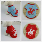 Dog Clothing T shirt Puppy Costume For Small Dog Polyester Sports Print T Shirt