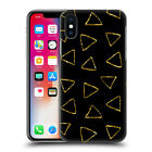 OFFICIAL HAROULITA BLACK AND GOLD HARD BACK CASE FOR APPLE iPHONE PHONES