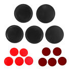 5 Pieces Air Hockey Replacement Pucks for Full Size Air Hockey Tables