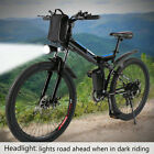26Inch Electric Mountain Bike Fat Tire E Bike With 300W Brushless Motor 6-Speed~