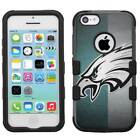 Philadelphia Eagles #T Rugged Impact Armor Case for iPhone X/8/Plus/7/6/5/s/SE