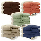 Biddeford Luxuriously Soft Micro Mink and Sherpa Electric Heated Throw Blanket image