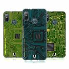 HEAD CASE DESIGNS CIRCUIT BOARDS SOFT GEL CASE FOR HTC PHONES 1