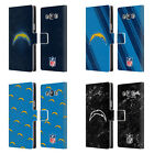 OFFICIAL NFL 2017/18 LOS ANGELES CHARGERS LEATHER BOOK CASE FOR SAMSUNG PHONES 3