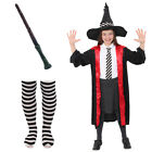 WORST WITCH COSTUME WAND AND TIGHTS WORLD BOOK DAY FANCY DRESS OUTFIT HALLOWEEN