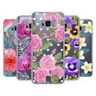 HEAD CASE DESIGNS WATERCOLOUR FLOWERS 2 SOFT GEL CASE FOR SAMSUNG PHONES 1