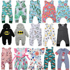 Newborn Infant Kids Baby Boy Girl Romper Bodysuit Jumpsuit C