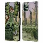 OFFICIAL AMY BROWN FAIRIES LEATHER BOOK WALLET CASE FOR APPLE iPHONE PHONES