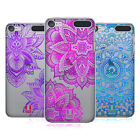 HEAD CASE DESIGNS GLITTER MANDALA PRINTS HARD BACK CASE FOR APPLE iPOD TOUCH MP3