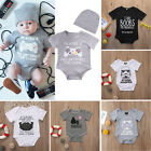 Funny Newborn Baby Boy Girl Clothes Star Wars Romper Bodysuit Outfit Sunsuit $3.99 USD
