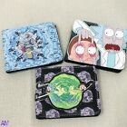Rick and Morty Designed Wallets UK Stock