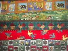 roosters reading - ROOSTER chicken cow FARM BTY Cotton quilt FABRIC U-Pick READ LISTING for DETAILS
