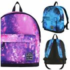 Hot Tuna Galaxy Backpack in Pink / Turquoise Cosmic Print. School Uni College